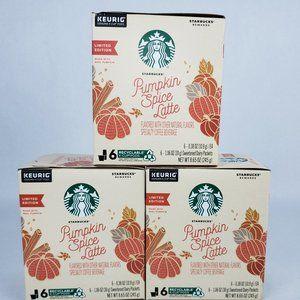 Starbucks Keurig Pumpkin Spice Latte 18 K Cup Pods